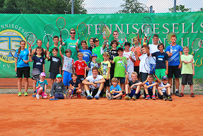 Tenniscamp 04.08. 07.08. Gruppe Homepage